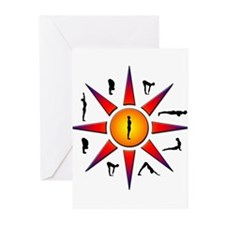 Sun Salutation Greeting Cards (Pk of 10)