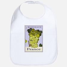 Wines of Bordeaux, France Bib