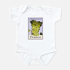 Wines of Bordeaux, France Infant Bodysuit