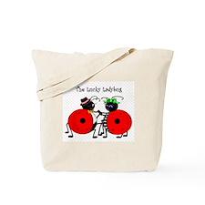 Unique Ladybugs Tote Bag
