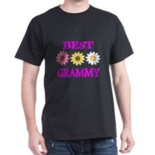 BEST GRAMMY WITH FLOWERS 2 T-Shirt