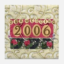2006 Wedding Tile Coaster