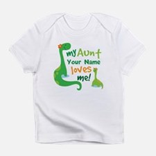 Personalized My Aunt Loves Me Infant T-Shirt