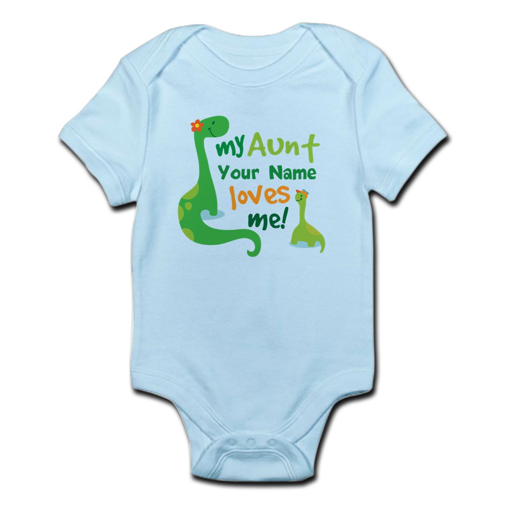 CafePress Personalized My Aunt Loves Me Body Suit