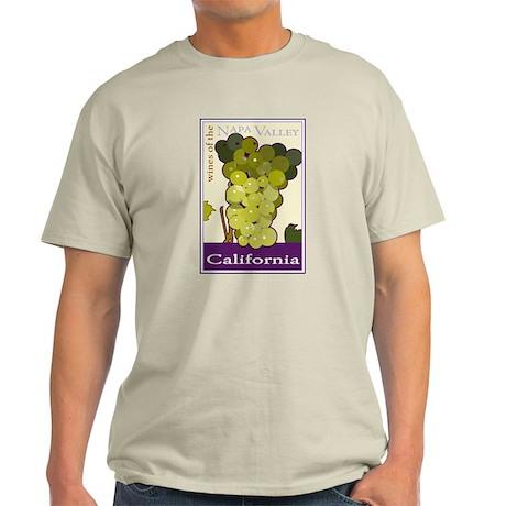 Wines of the Napa Valley, Cal Ash Grey T-Shirt