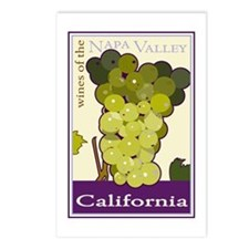 Wines of the Napa Valley, Cal Postcards (Package o