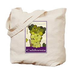 Wines of the Napa Valley, Cal Tote Bag
