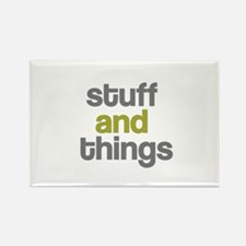 Stuff Thangs Rectangle Magnet