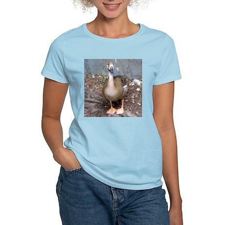 swan goose Women's Pink T-Shirt
