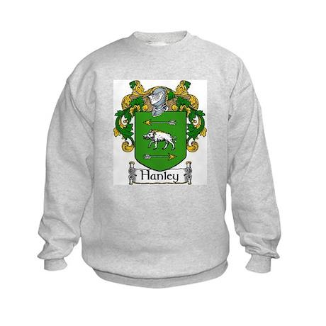 Hanley Coat of Arms Kids Sweatshirt