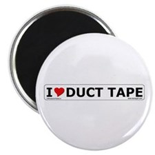 'I Love Duct Tape' Magnet