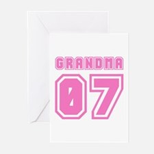 GRANDMA 07 Greeting Cards (Pk of 10)