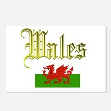 Welsh Postcards (Package of 8)
