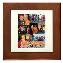 Team Lazzari Framed Tile