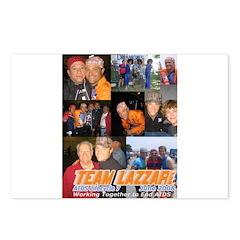 Team Lazzari Postcards (Package of 8)