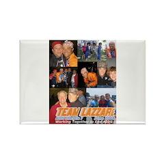 Team Lazzari Rectangle Magnet (10 pack)