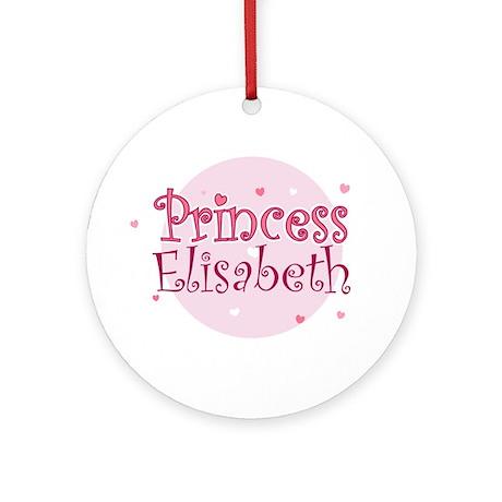 Elisabeth Ornament (Round)