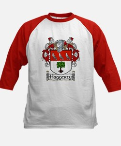 Haggerty Coat of Arms Kids Baseball Jersey