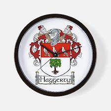 Haggerty Coat of Arms Wall Clock