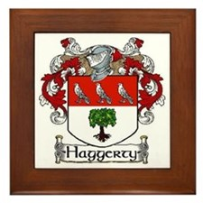 Haggerty Coat of Arms Framed Tile