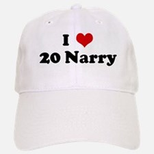 I Love 20 Narry Baseball Baseball Cap