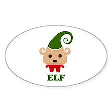 Happy Elf Bumper Stickers