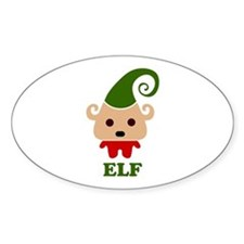 Happy Elf Decal