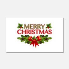 Merry Christmas Berries & Holly Car Magnet 20 x 12