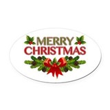 Christmas Oval Car Magnets