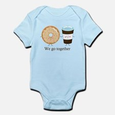 We go together like coffee and donuts Body Suit