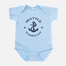 Seattle Anchor Infant Bodysuit
