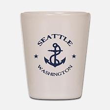 Seattle Anchor Shot Glass