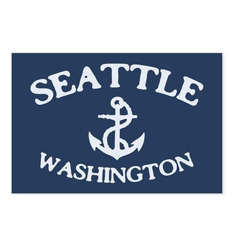 Seattle Anchor Postcards (Package of 8)