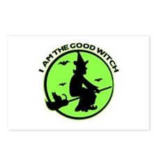 Good Witch Postcards (Package of 8)