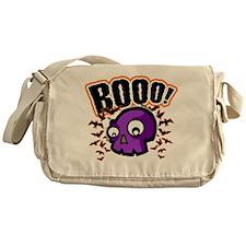 Novelty Booo! Halloween Messenger Bag