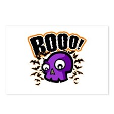 Novelty Booo! Halloween Postcards (Package of 8)