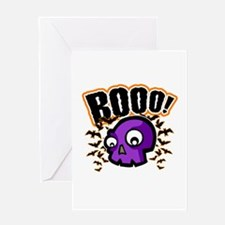 Novelty Booo! Halloween Greeting Card