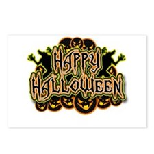 Spooky Happy Halloween Postcards (Package of 8)