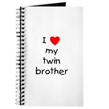 I love my twin brother Journal