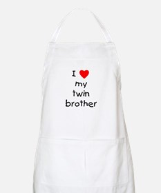 I love my twin brother BBQ Apron