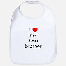 I love my twin brother Bib