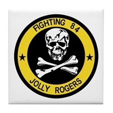 VF-84 Jolly Rogers Tile Coaster
