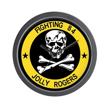 VF-84 Jolly Rogers Wall Clock