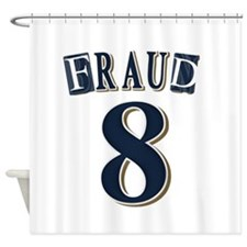 Braun Fraud Shower Curtain