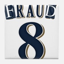 Braun Fraud Tile Coaster