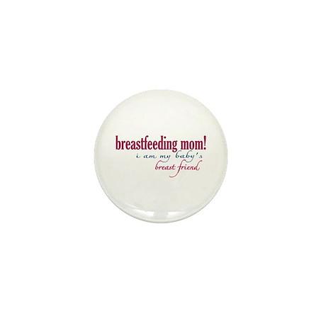 Breast Friend - Mom Mini Button