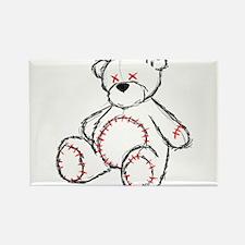 Tragic Bear Sketch Rectangle Magnet