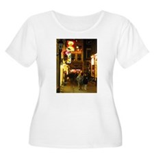 Red Light District Amsterdam Plus Size T-Shirt