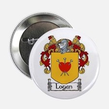 """Logan Coat of Arms 2.25"""" Button (10 pack)"""