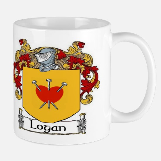 Logan Coat of Arms Mug